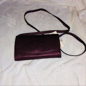 A New Day Boysenberry bag
